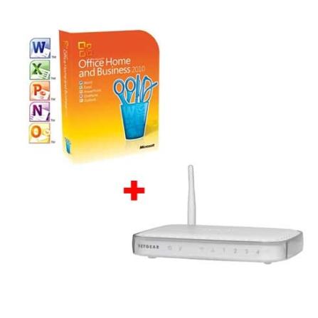 Microsoft Office Duas Licença+Roteador Wireless