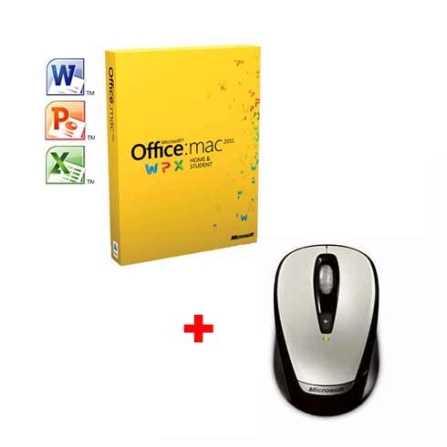 Microsoft Office Mac 2011+Wireless Mouse Microsoft