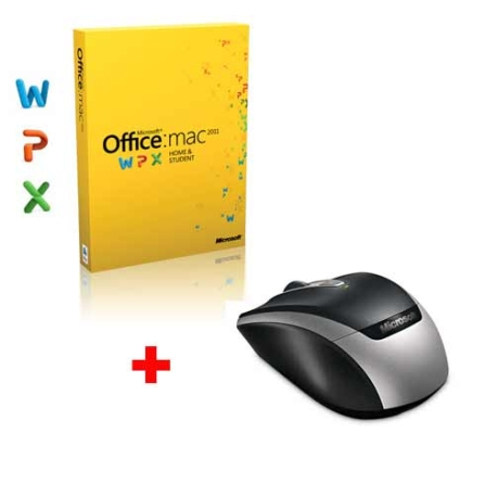 Office Mac 2011 Home & Student + Mouse Wireless