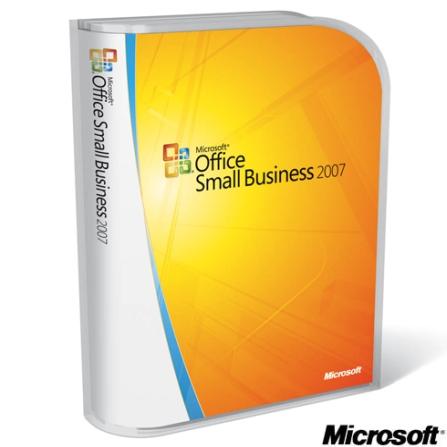Office 2007 Small Business Atualização em Português - Microsoft - CJW8701020