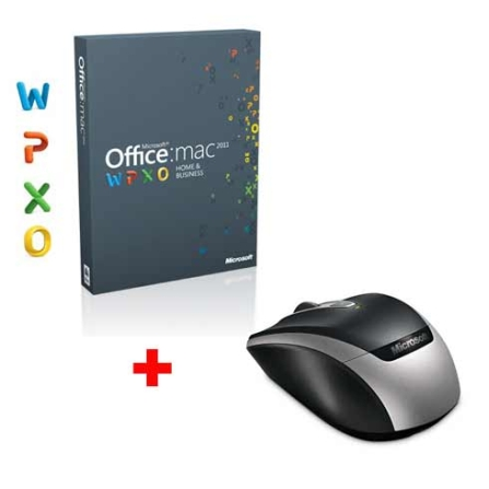 Microsoft Office Mac 2011 Home & Business + Mouse