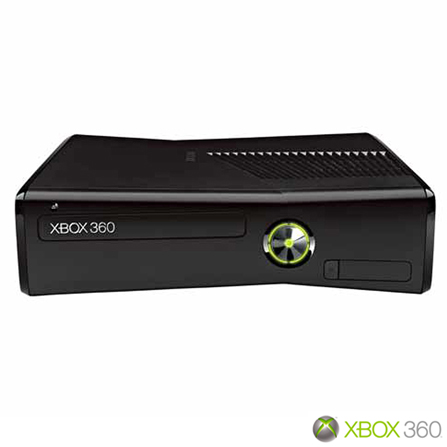 Xbox 360 Slim 4GB com Kinect e Jogo Kinect Adventures + HD 320GB Preto Brilhante, GM