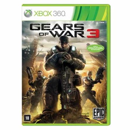 Gears of War 3 Edição Épica para XBOX 360 - GOW3ED