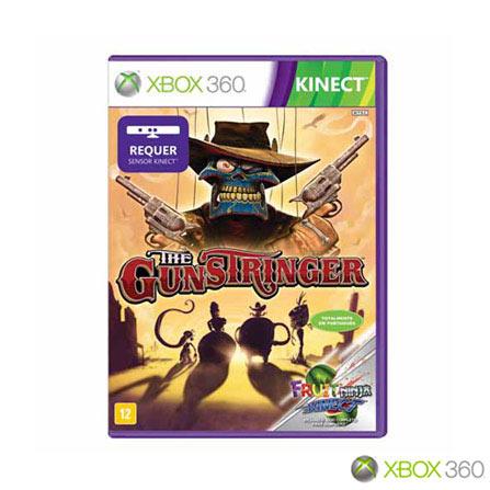 Jogo Gunstringer para Xbox 360, Não se aplica, Xbox 360, Aventura, DVD, 12 anos, Não especificado, Não especificado, 03 meses