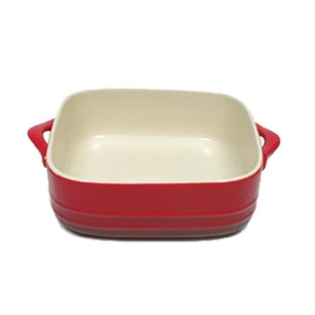 Travessa de Porcelana com 27x27cm - Vermelha - Maxwell Williams - 4080330043