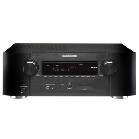 Receiver 7.1 Canais com 90W RMS x 7 / Dolby Digital / Dolby True HD / DTS / 4 Conexões HDMI / Multi-Speaker / Preto - Marantz -, 110V