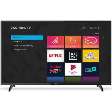 """Tv 50"""" Led AOC 4k - Ultra Hd Smart - 50u6295/78g"""