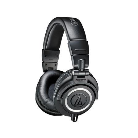 Fone de Ouvido Headphone Profissional Com Fio Audio Technica Ath-m50