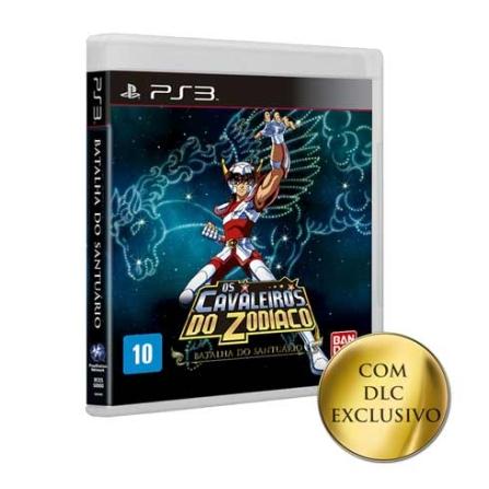 Jogo Cavaleiros do Zodíaco : Batalha do Santuário para PS3 - CAVZODSANTUA