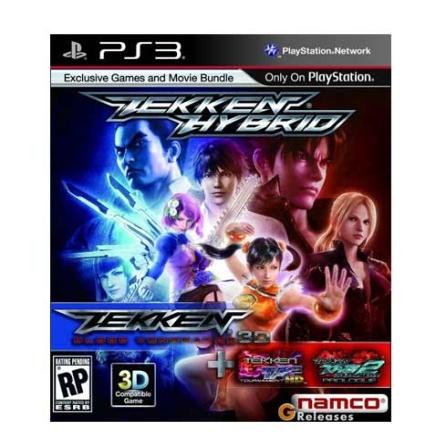 Jogo Tekken Hybrid para PS3 -  TEKKENHYBRID