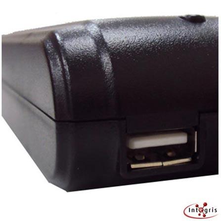 Carregador Universal para Notebook Integris AD001 Preto