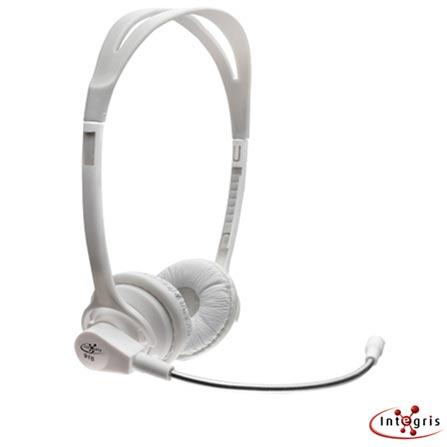 Fone de Ouvido Integris F915W Branco com Microfone