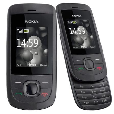 Celular 2220 com Gravação de Rádio FM/Câmera Nokia