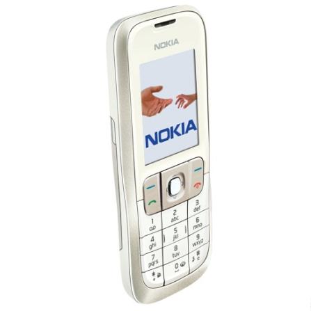 Celular 2630 Branco com Câmera VGA / Rádio FM e Bluetooth - Nokia