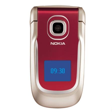 Celular 2760 Vermelho com Câmera VGA / Rádio FM e Bluetooth - Nokia