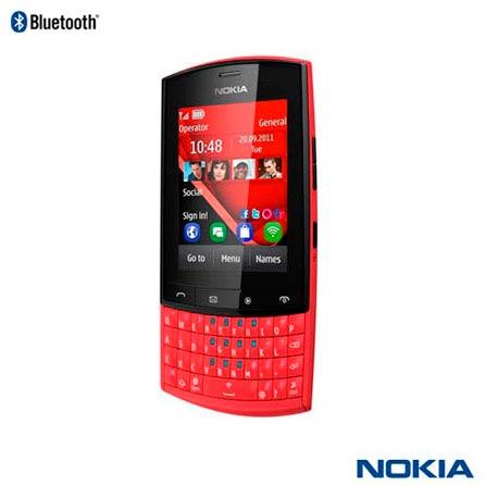 Celular Nokia Asha 303 Vermelho com com 3G
