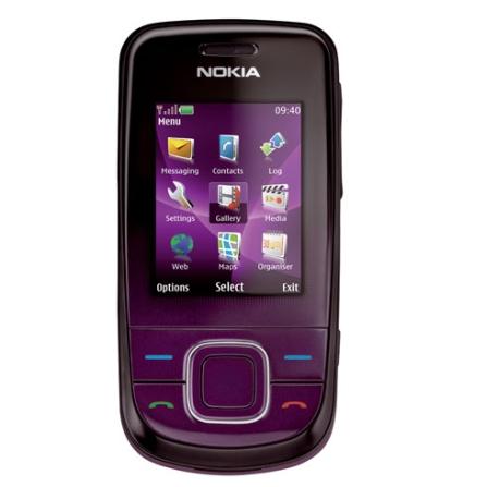 Celular GSM 3600 c/ Câmera de 3.2MP Nokia