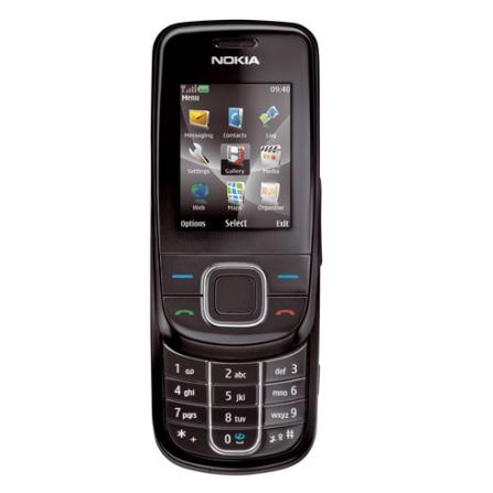 Celular GSM 3600 Preto com Câmera de 3.2MP / MP3 Player / Rádio FM / Bluetooth / Gravação de Vídeo / Saída para TV / Nok