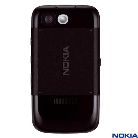 Celular com Câmera VGA / MP3 Player / Rádio FM / Bluetooth / Cartão Micro SD de 256MB - Nokia - 5200 Preto, 110V, 220V, Bivolt, Bivolt, Preto, 0, False, 1, N, False, False, False, False, False, False, I, 12 meses, Micro Chip