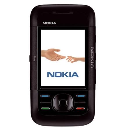 Celular GSM 5200 Preto com Câmera VGA / MP3 Player / Rádio FM / Vídeo Streaming / Bluetooth / Cartão de 256MB - Nokia +