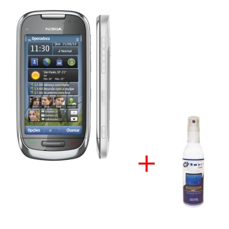 Nokia C7-00 + Limpador