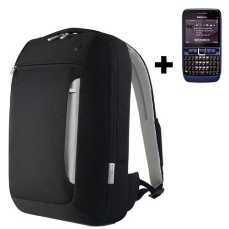 Smartphone E63 Wi-Fi /GPS Nokia + Mochila Belkin