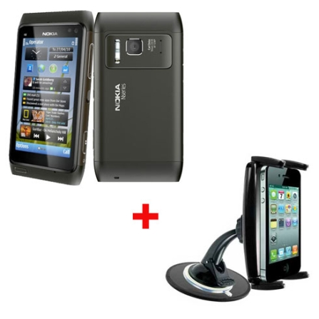 Smartphone Nokia N8,12.0 MP, 3G + Suporte Veicular