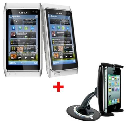 Smartphone Nokia N8 com 12.0 MP + Suporte Veicular