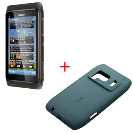 Smartphone Nokia N8 Grafite com Tecnologia 3G