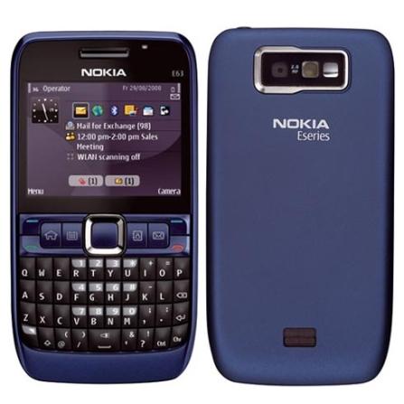 Smartphone E63 3G Com Wi-Fi e Teclado Qwerty Nokia
