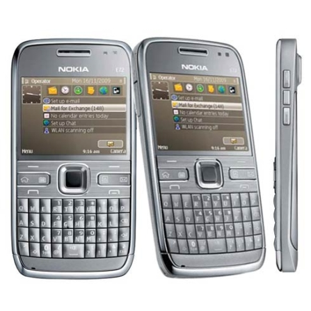 Smartphone 3G E72 Câmera 5.0, GPS e QWERT -Nokia