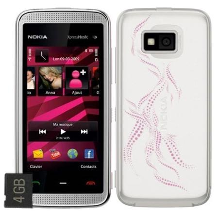 Celular N5530 Rosa Touch Screen / Bluetooth Nokia
