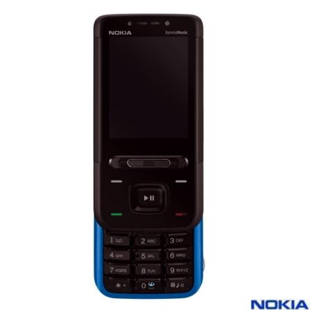 Celular N5610 Preto e Azul com Tecnologia 3G e GSM / Câmera 3.2MP / MP3 Player / Rádio FM / Bluetooth / Car, Bivolt, Bivolt, Preto e Azul, 0, False, 1, N, False, False, False, False, False, False, I, 12 meses, Micro Chip