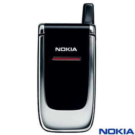 Celular GSM 6060 Preto e Prata - Nokia