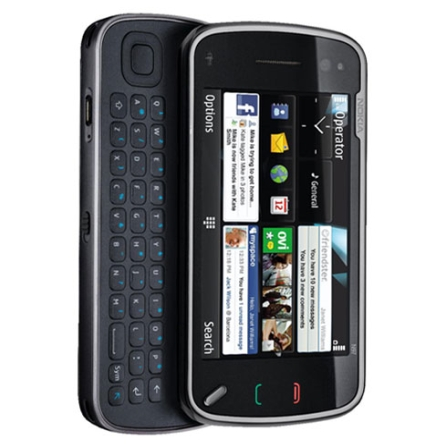 Celular N97 3G Touch/Wi-Fi/Bluetooth/GPS Nokia