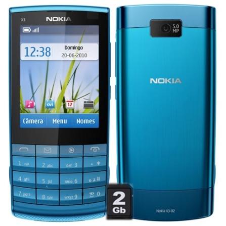Smartphone X3 Câmera 5MP,Touch2,4