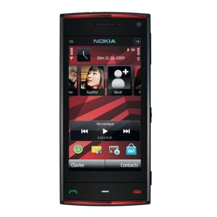 Celular X6 Câmera AF 5.0MP/WiFi/16GB Memória Nokia