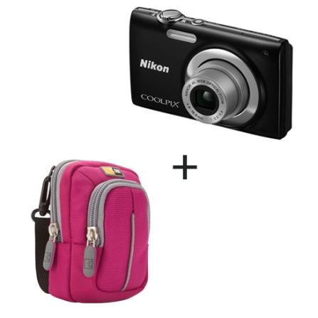Nikon Coolpix S2500 Prata 12MP + Capa