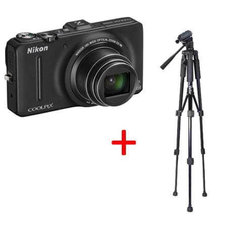 S9300 Zoom 18x + Tripé