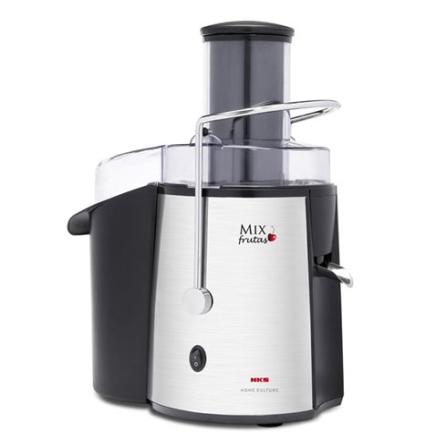 Centrífuga Mix Frutas / 600W / Pés antiderrapantes / Preta e Cromada - NKS - TSK645, 110V, 220V