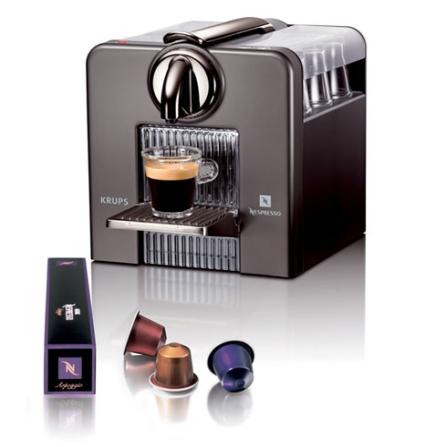 (ver NLCJ185TI_3031) Cafeteira Expresso Automática Le Cub Titan com Controle Programável da Quantidade de Café / Compart, 110V