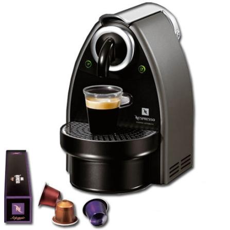 Cafeteira Espressa Automática Essenza com 19 Bars de Pressão / Titanium + Kit Boas Vindas - Nespresso - C100T, 220V