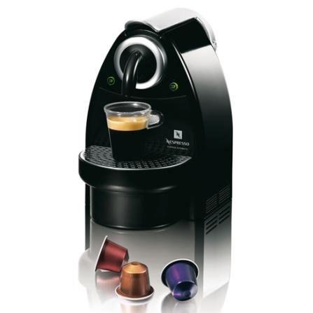 Máquina de Café Espresso Automática  Essenza / 19 Bars de Pressão / Preta + Kit Boas Vindas - Nespresso - C101BRPBNE, 110V, 220V