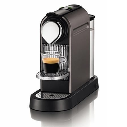 (Ver Coml) Máquina de Café Espresso Automática  Citiz / 19 Bars de Pressão / Titanium + Kit Boas Vindas - Nespresso - C1