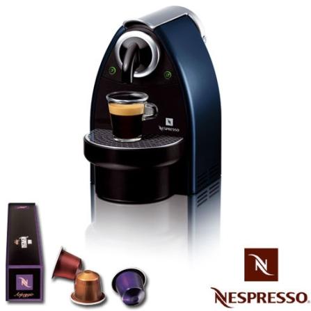 Cafeteira Espressa Automática Essenza C100 Azul Crepúsculo + Kit Boas Vindas - Nespresso - CJTWINKITBV