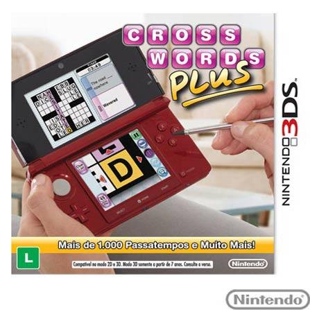 Jogo Crosswords Plus para Nintendo 3DS