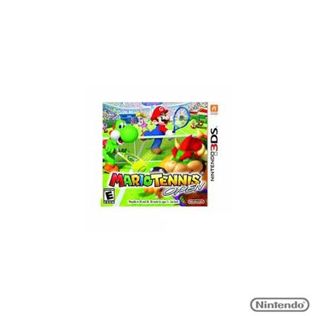 Jogo 3DS Mario Tennis Open 7 para Nintendo - 3DSMARIOOPEN, GM, Esportes, ER, Game Card, 03 meses
