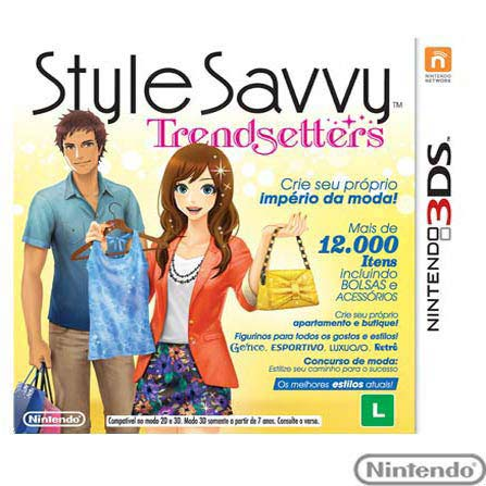 Jogo Style Savvy: Trendsetters para Nintendo 3DS