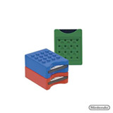 Brick Game Lego c/ 3 Porta Cartões de Jogos