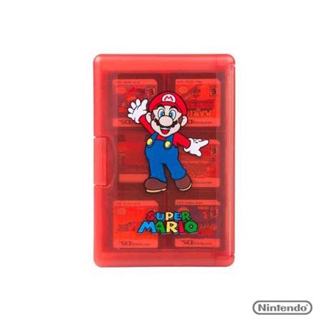 Case 24 Games Mario, Não se aplica, Capas, Cases e Mochilas, Nintendo DS, 03 meses